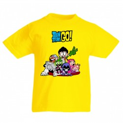 T-SHIRT TEEN TITANS GO !