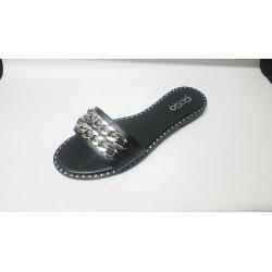 Scarpe donna fascia nera n.40