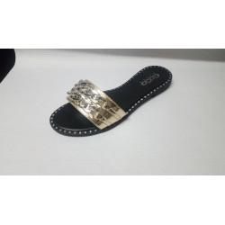 Scarpe donna dorata n.38