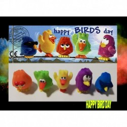 kinder happy bird day completa 2003 04  5 bpz