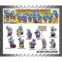 Dettagli su  KINDER DIE HAPPY HIPPO COMPANY 1994 COMPLETA CON CARTINA