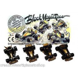 Dettagli su  BLACK MAGIC RACER - kinder -  COMPLETA con 1 CARTINA GERMANIA