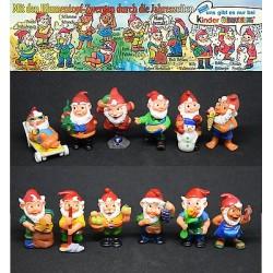 Dettagli su  SERIE TEDESCA KINDER - 1994 MIT DEN BLUMENTOPF-ZWERGEN - con 1 cartina