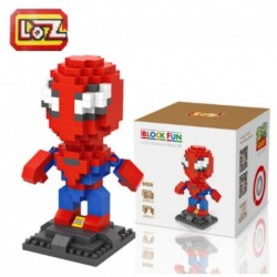 Spiderman  LOZ Super Hero Diamante Building Blocks  Figure Modello FAI DA TE