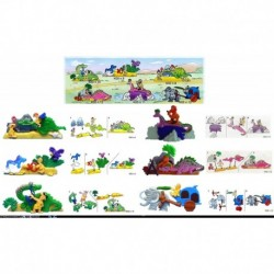 K00 - N080910111213 SERIE COMPLETA - KINDER  - con 6 CARTINE