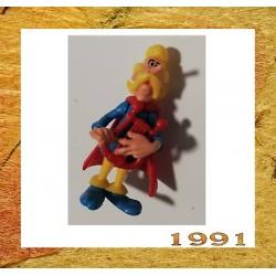 ASTERIX  TROUBADIX 1991 componibile kinder senza cartina - KINDER CODA