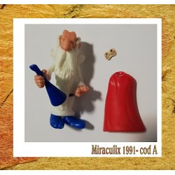k91-10 Panoramix fiasco- asterix - 1991 componibile kinder senza cartina - CODA