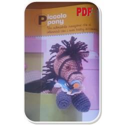 Free Crochet Pattern in English & Dutch: French Mini Peacock ... | 250x250