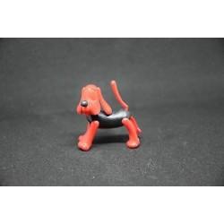 Cane rosso Raro -  kinder vintage - 90s k90 senza occhi