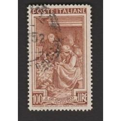 ITALIA 1950 - LAVORO Lire 100 - usato (Y)