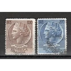 REPUBBLICA 1954 ITALIA TURRITA  - SERIE USATI