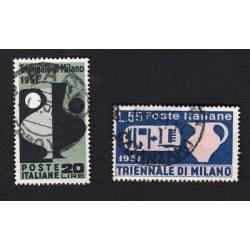 REPUBBLICA 1951 Triennale di Milano -  usati