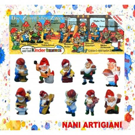 NANI ARTIGIANI  - KINDER - 1992 -93 - ENTRA E SCEGLI