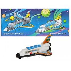 k92 69 - con cartina - kinder -  con adesivi staccati