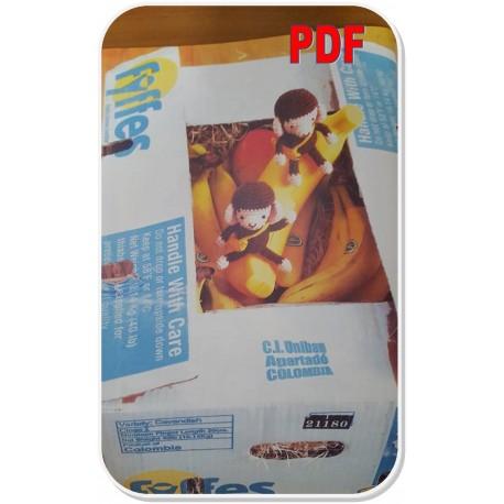 scimmia Archivi - Amigurumi Gratis Free | 458x458