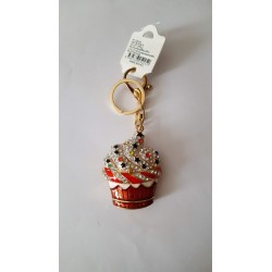 Portachiavi idea regalo con strass