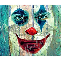 QUADRO di Amy Winehouse 56x66 p25 2020 di RAFFAELE DE LEO