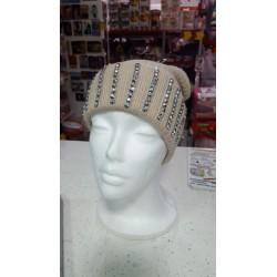 Cappello donna in lana marroncino